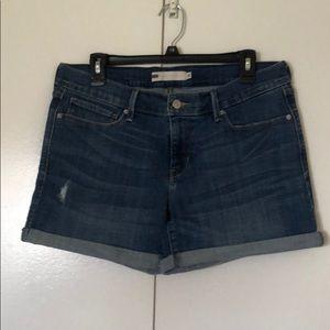 Jean denim Levi's shorts